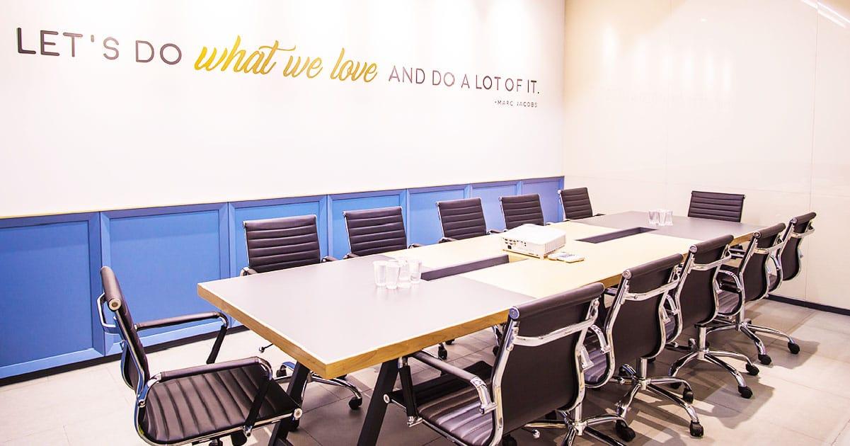 meeting room in jakarta indonesia gowork coworking space